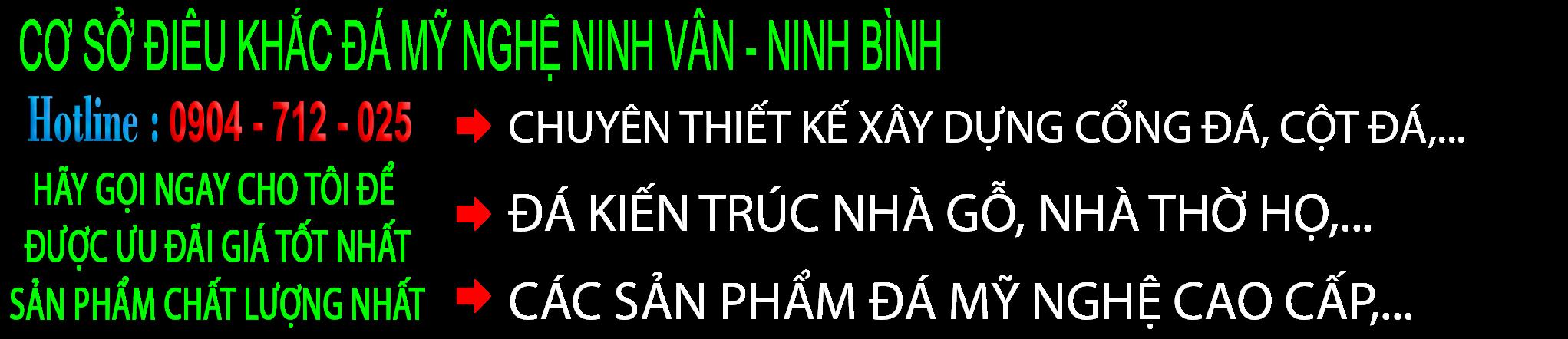 Làng đá mỹ nghệ Ninh Vân-Ninh Bình